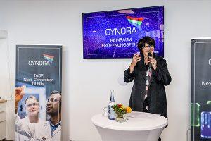 Bruchsal市长夫人Cornelia Petzold-Schick女士(Harald Flügge博士拍摄)